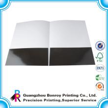 Impresso em uma impressão feita à mão feita a mão lateral do dobrador de lima de papel