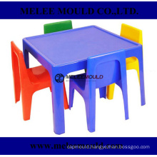 Red Plastic Stackable School Chair Mould with 15-1/2-Inch Seat Height
