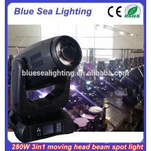Brightness Robe beam spot wash Orsam 280W 10R dmx moving head