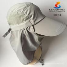 Unisex sport Hiking Fishing Cap Neck Face Flap UV Protection Man baseball Hat