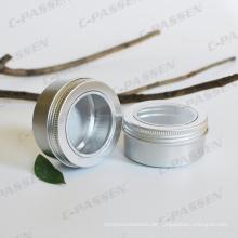 150g Aluminium Kosmetik Creme Glas mit Fensterdeckel