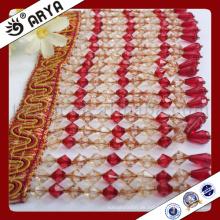 Hangzhou Taojin Textil lange Rang Perlen Fransen für Vorhang Dekoration und andere Heimtextilien