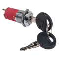 Interruptores de llave de seguridad UL Electric 16mm