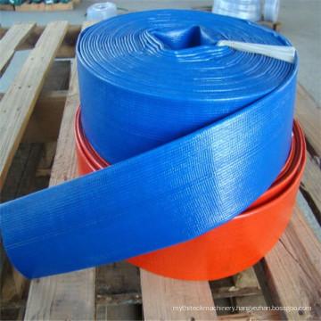 Low Temperature 8 Inch Heavy Duty PVC Layflat Hose Pipe10bar