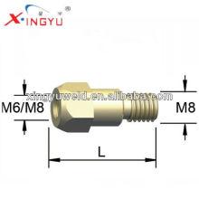 Binzel tip holder / mig torch contact tip holder
