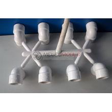 Kunststoffrohrform, PVC-Rohrfitting-Form