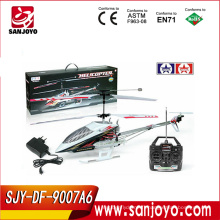 9007A6 gros avions rc à vendre rc hélicoptères avec gyro 3.5 canaux