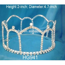 Coroa sueca metal pente wuku contas de cristal coroa tiara peça tiara display stand tiaras de prata