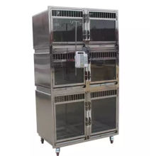 veterinary equipment stainless steel aluminium pet cage