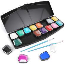 Kit de maquillage pour le visage de fête de vacances d'art peinture