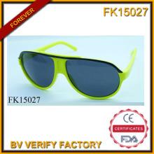 Leuchten Sie grün einfache Sonnenbrille (FK15027)
