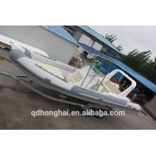 fibra de vidrio grande inflable lujo yates/barcos