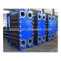 Marine oil cooler diesel engine oil cooler assembly