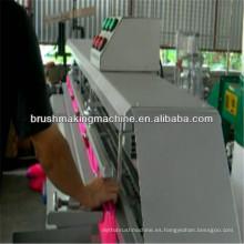 Filamento semiautomático del cepillo Recorte y filamento que dividen la máquina de dos funciones