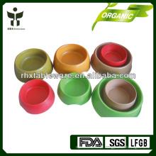 Biodegradável planta tigelas tigela pet
