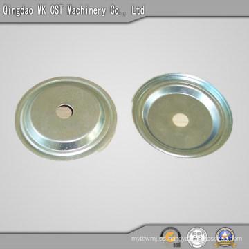 Estampación de piezas de acero fundido con recubrimiento de zinc