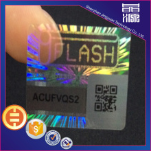 QR code Series Number Genuine Hologram Stickers