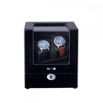 Ebony Watch Winder для двух часов
