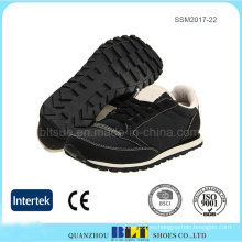 Diseño de suela de goma confort para zapatillas hombre