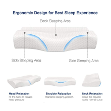 Contour Cervical Memory Foam Pillow