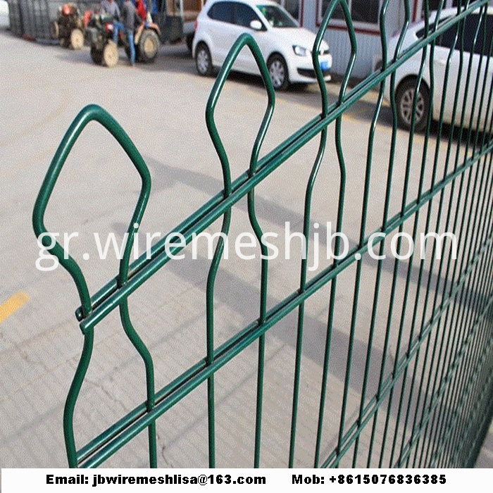 868/656 Powder Coated Double Weft Wire Mesh Fence