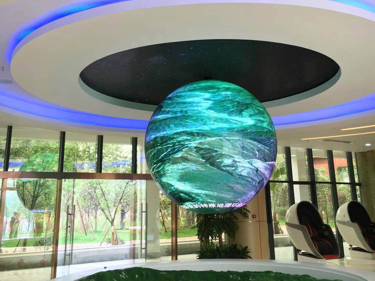Ph4 Sphere Led Display Htj