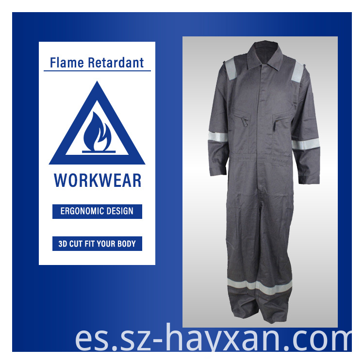 Fire Resistant Fireman Protective Clothing