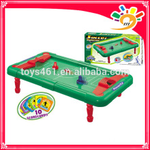 Diy assembly mini football table soccer board game sport toys