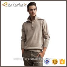 Custom knit pure cashmere mens jumper