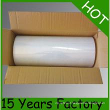 Película de estiramento clara do PE da pálete da venda por atacado do preço de fábrica