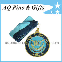 Wholesale Sports Medal with Ribbon for Regatta