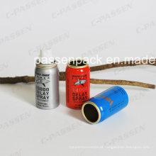 Recipiente de aerossol de alumínio para embalagens de pulverização médica (PPC-AAC-032)