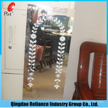 1.5mm / 1.8mm Espejo diseñado / Espejo impreso / Espejo de la hoja / Espejo de aluminio / Espejo de la pantalla de plata / Espejo de los muebles