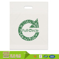 100% new material heavy duty recyclable wholesale plastic tamper proof bag die cut handle
