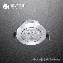 3W светодиодный потолочный светильник