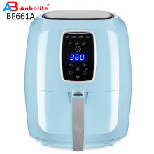 Electric Hot Air Fryers Oven Oilless Cooker Nonstick Basket for Fast Healthier Fried Food 5.5L Digital Air Fryer