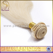Cheap 100% luxury blonde remy human hair extension sale
