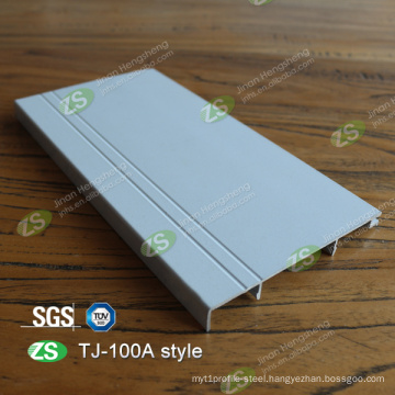 High Quality Curved Wall Protection Sliver Skirting Board Baseboard