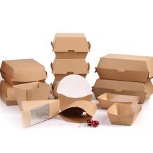 individuell bedruckte papier burger box gewellte hamburg box
