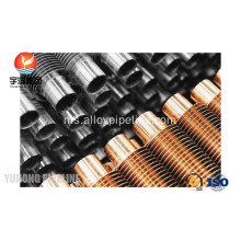 B338 Gr. 2 Titanium Spiral Extruded Finned Tube
