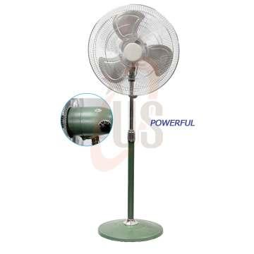 """18 """"Power Green Green Metal Stand Fan (USSF-307)"""