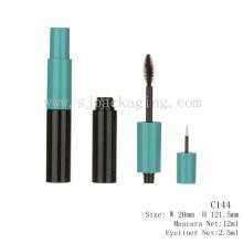 2016 Nuevo tubo plástico del rimel del diseño con el tubo del Eyeliner