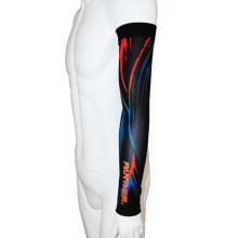 OEM Lycra impressa compressão mangas de braço de esportes (CYA03)