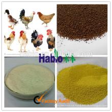 Venta caliente 15 años Venta directa de fábrica de Habio Enzima especializada para aves de corral (aditivo para piensos)