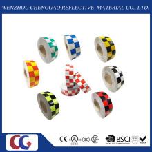 Fita reflexiva retro do material reflexivo material da grade da multi cor (C3500-G)