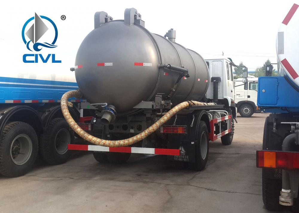 Sewage Suction Truck 18
