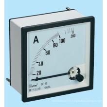 Instruments de mesure de fer à commande électrique Ammètres à courant alternatif (SF-48, SF-72)
