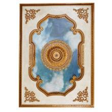 Papier peint à la main en couleur Sky Angel pour les plafonds