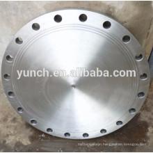 Factory Produce Asme B16.5 Forged Grade 2 Class 150 Dn80 Dn100 Dn150 Titanium Blind Pipe Flange