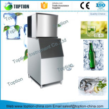 Stainless steel automatic commercial cube ice maker